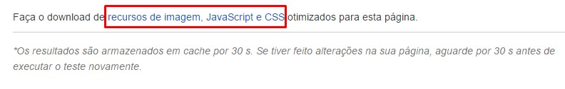 Otimizando PageSpeed